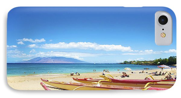 Maui Outriggers Phone Case by Kicka Witte