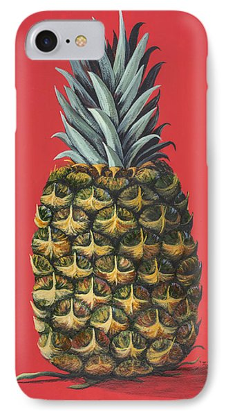 IPhone Case featuring the painting Maui Pineapple 2 by Darice Machel McGuire