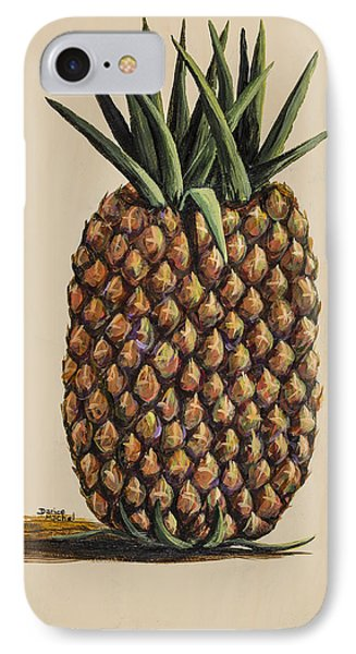 IPhone Case featuring the painting Maui Pineapple 3 by Darice Machel McGuire