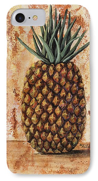 Maui Pineapple IPhone Case by Darice Machel McGuire