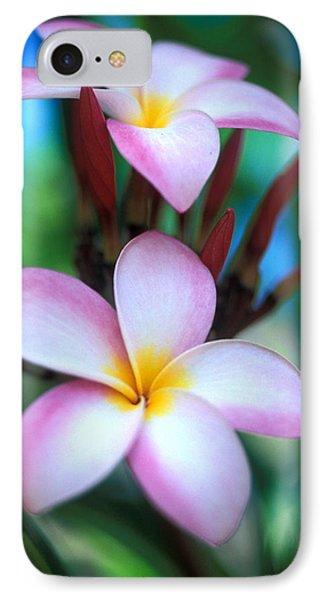 Maui Plumeria Phone Case by Kathy Yates