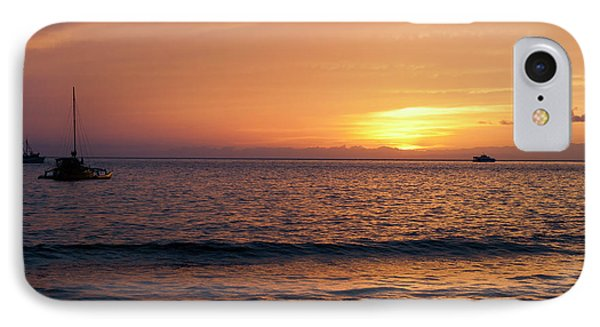 IPhone Case featuring the photograph Maui Sunset by Randy Bayne