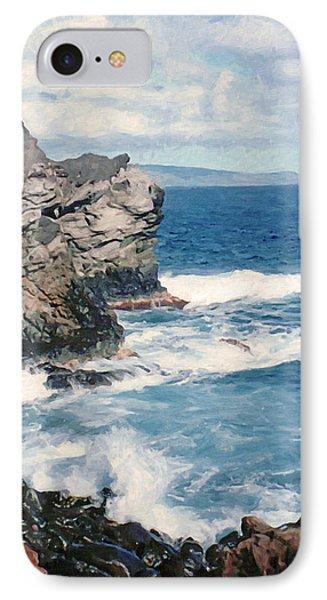Maui Surf IPhone Case by Susan Schroeder