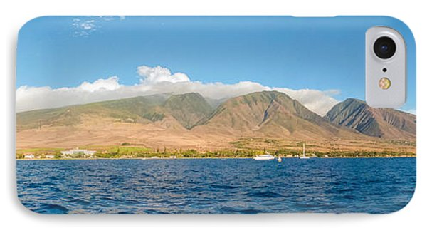 Maui's Southern Mountains   IPhone Case by Lars Lentz