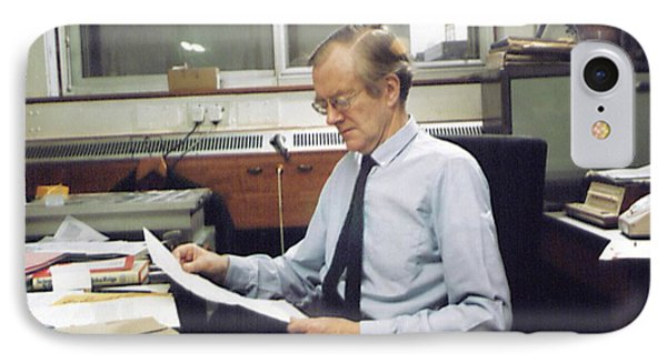 Maurice Wilkins IPhone Case by King's College London Archives