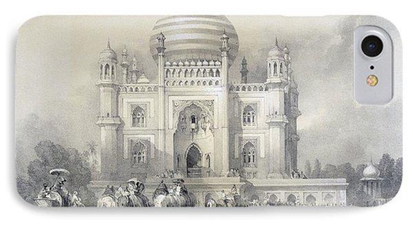 Mausoleum Of Jufhir Junge, Delhi IPhone Case by English School