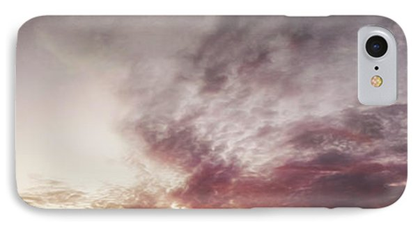Mauve Skies Phone Case by Holly Martin