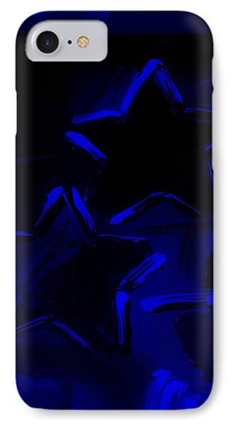 Max Two Stars In Blue Phone Case by Rob Hans