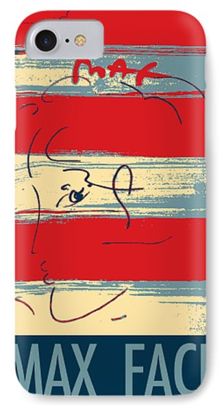 Max Woman In Hope Phone Case by Rob Hans