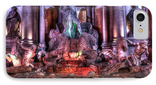 Trevi Fountain IPhone Case by Kevin Ashley
