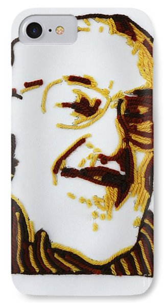 IPhone Case featuring the painting Max's Portrait by PainterArtist FINs husband Maestro