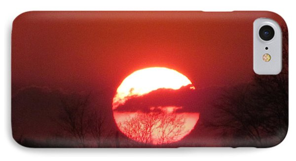 May 1 2013 Sunset IPhone Case by Tina M Wenger