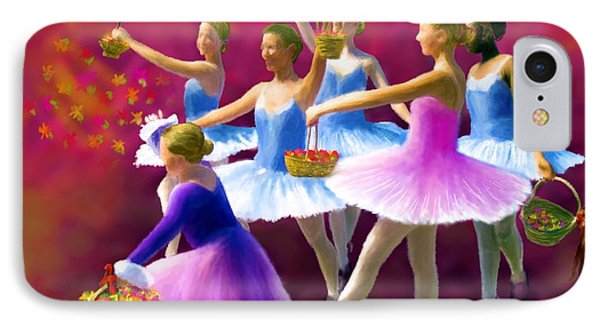 May Dancers Phone Case by Ric Darrell