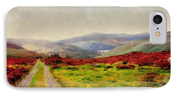 May It Be Your Journey On. Wicklow Mountains. Ireland IPhone Case by Jenny Rainbow