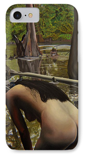 May Morning Arkansas River  2 IPhone Case by Thu Nguyen