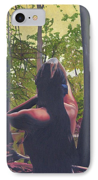 May Morning Arkansas River 5 IPhone Case by Thu Nguyen