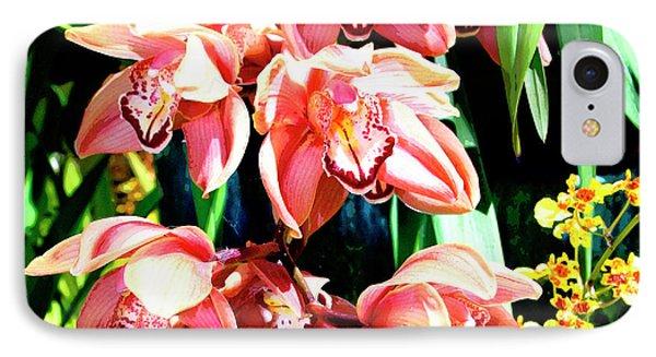 Joy Orchids IPhone Case