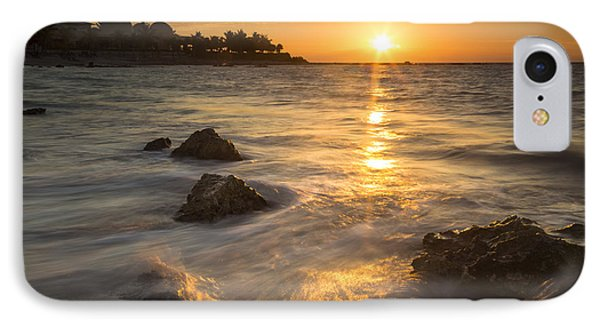 Mayan Coastal Sunrise Phone Case by Adam Romanowicz