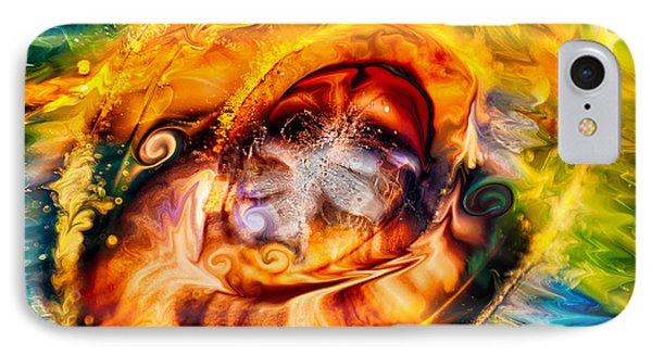 Mayan God Phone Case by Omaste Witkowski