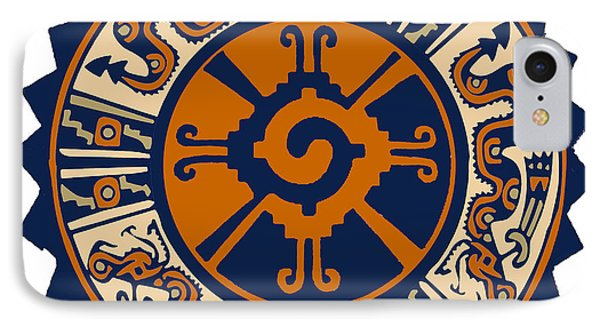 Mayan Hunab Ku IPhone Case