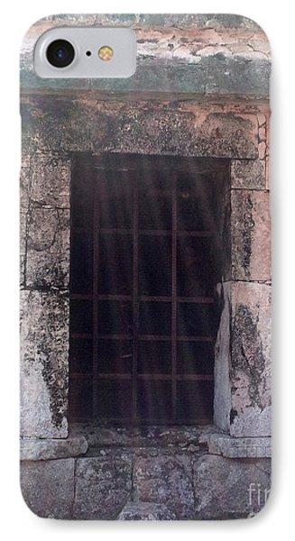 Mayan Ruins Sunlit Window IPhone Case