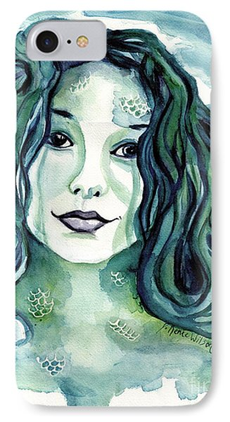 Maybe I'm A Mermaid IPhone Case by D Renee Wilson