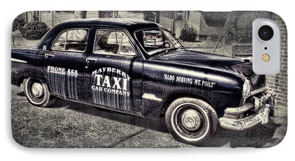 Mayberry Taxi Phone Case by David Arment