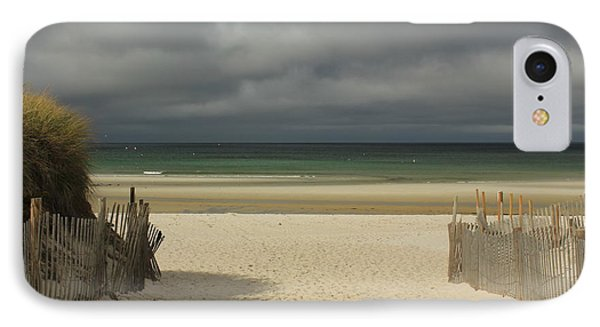 Mayflower Beach Storm IPhone Case by Amazing Jules