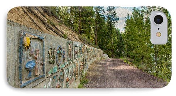 Mazama Suspension Bridge Trail Phone Case by Omaste Witkowski