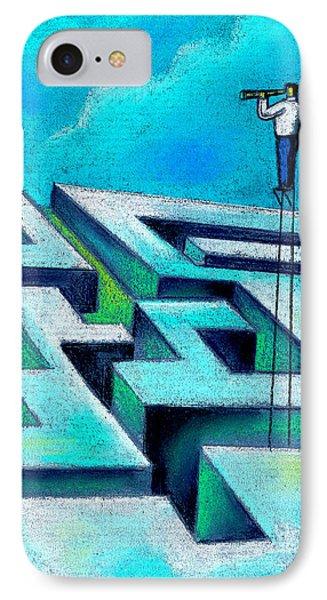 Maze Phone Case by Leon Zernitsky
