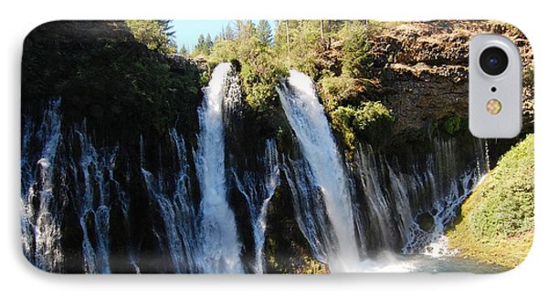 IPhone Case featuring the photograph Mcarthur-burney Falls 1 by Debra Thompson