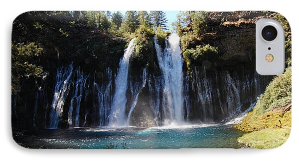 IPhone Case featuring the photograph Mcarthur-burney Falls 2 by Debra Thompson