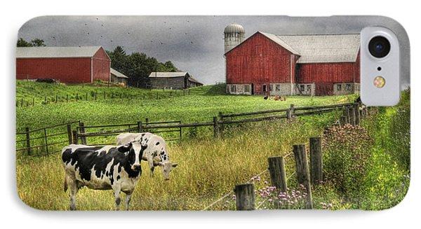 Mcclure Farm Phone Case by Lori Deiter