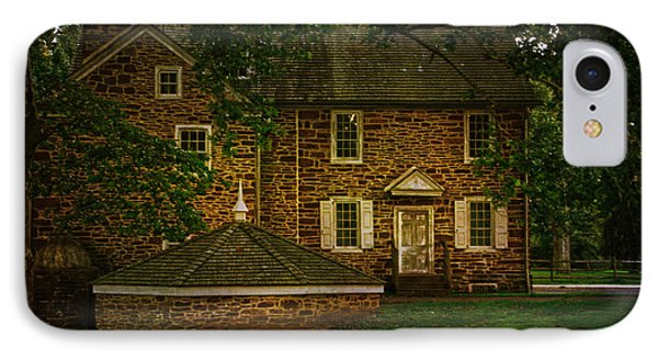 IPhone Case featuring the photograph Mcconkey's Ferry Inn by Debra Fedchin
