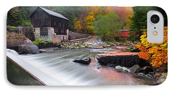 Mcconnell's Mill Fall  IPhone Case by Emmanuel Panagiotakis