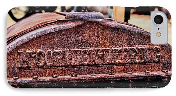 Mccormic Deering Phone Case by Jon Burch Photography