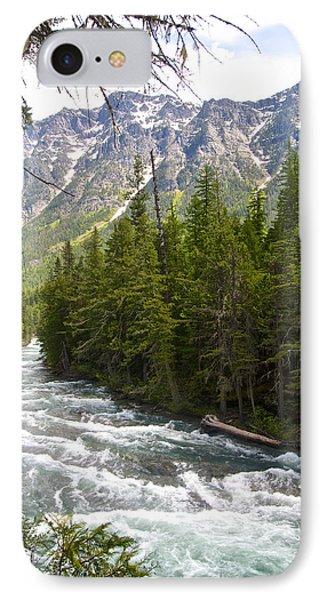Mcdonald Creek In Glacier Np-mt IPhone Case