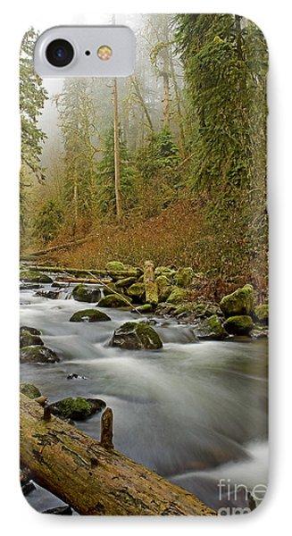 Mcdowell Creek Landscape IPhone Case by Nick  Boren