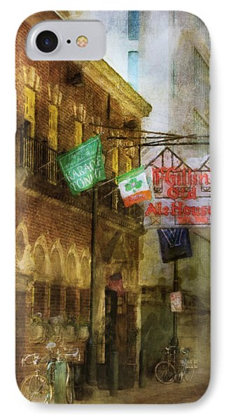 Mcgillins Olde Ale House IPhone Case by John Rivera