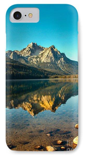 Mcgowan Peak Reflection IPhone Case by Robert Bales