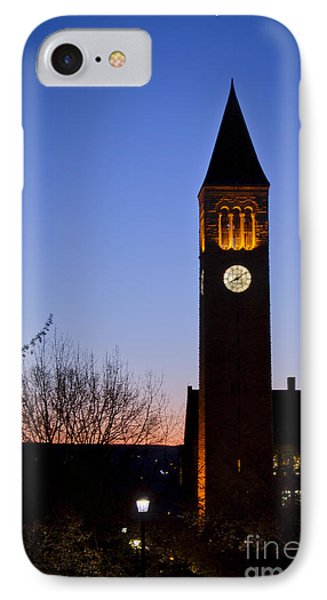 Mcgraw Tower Cornell University IPhone Case