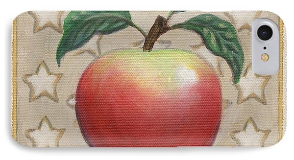 Mcintosh Apple Two Phone Case by Linda Mears