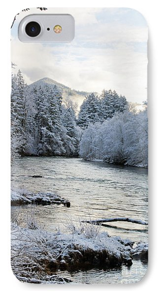 IPhone Case featuring the photograph Mckenzie River by Belinda Greb
