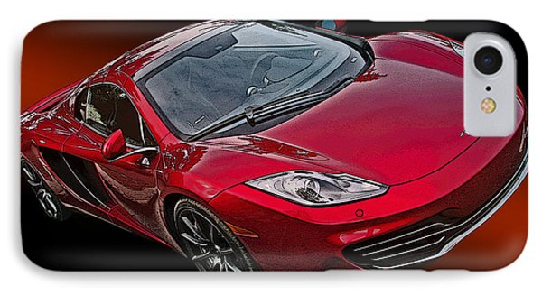 Mclaren Mp4-12c IPhone Case by Samuel Sheats