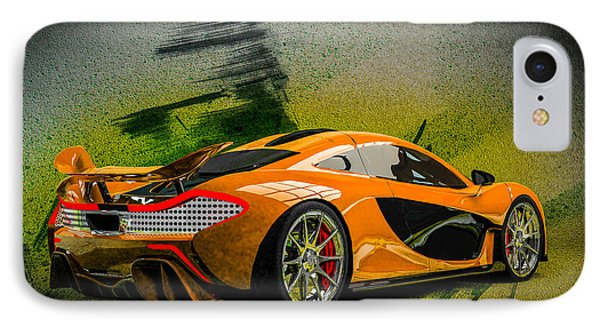 Mclaren P1 IPhone Case by Louis Ferreira