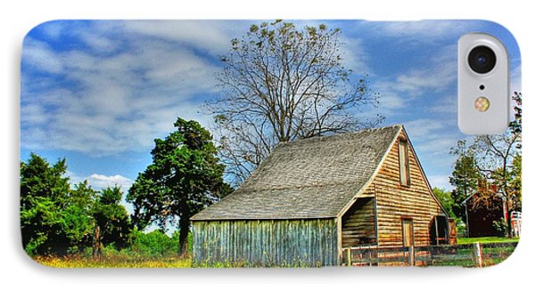 Mclean House Barn 1 IPhone Case by Dan Stone