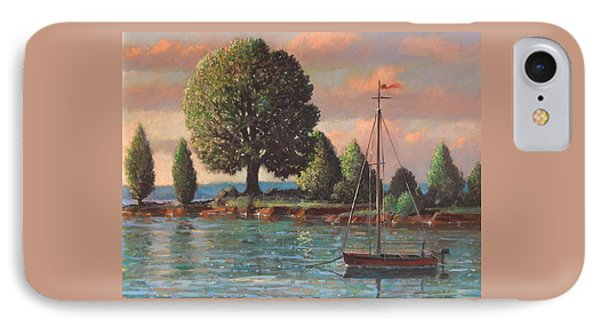 Mcmeekins Point IPhone Case by Blue Sky