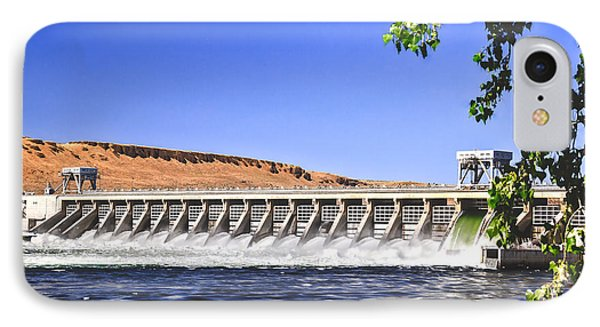 Mcnary  Hydroelectric Dam Phone Case by Robert Bales