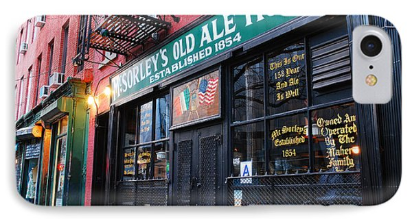 Mcsorley's Old Ale House IPhone Case by James Kirkikis