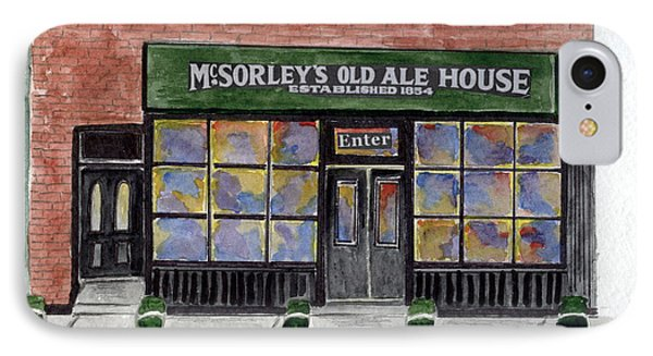 Mcsorley's Old Ale House Phone Case by AFineLyne